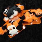 "4"" Fuzzie Halloween Theme Barrettes 12 per pk .40 ea"