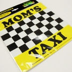 """5.5"""" Square MOM'S Taxi Anywhere Magnets 12 per pk .42 ea"""