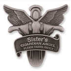 "CLOSEOUT 2.5"" Guardian Angel Sister Clip 6 per pk $ .65 ea"