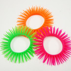 Teen Noodle Stretch Spikey Bracelets 12 per pk .45 ea