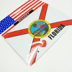 "4.5"" X 6"" State of Florida Anywhere Magnets 12 per pk .45 ea"
