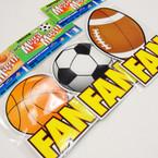 """4"""" X 8"""" Sports Theme Fan Anywhere Magnets 22 per pk .45 ea"""