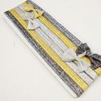 6 Pack Metallic Color Stretch Headbands w/ Bow .50 per set