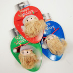 Handcrafted SANTA Face w/ Hat Necklaces 12 per pk @ .40 ea