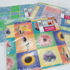12.5 Sq. Ft Everyday Theme Gift Wrap Sheets 12 per bx @ .50 per pk