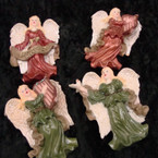 "Beautiful  3"" Peace/Music Angel Poly Resin Magnets 12 per bx @  .50 ea"