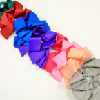 "6"" Mixed Color Gator Clip Bows as shown .54 ea"