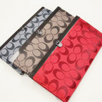 "4"" X 7.5"" ""C"" Print Fashion Ladies Wallets 12 per pk $ 1.50 ea"