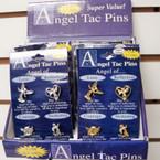4 Pack Angel Tac Pins Gold & Silver 12 sets per counter display bx $ 1.00 ea set
