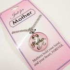 Just For Mother Pendant Necklace  24 per pk .85 ea