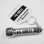 #1  Uncle LED Flashlight Keychain 24 per pack .85 ea