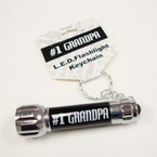 #1  Grandpa LED Flashlight Keychain 24 per pack .85 ea