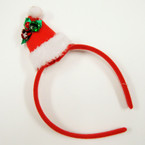 SPECIAL Santa Hat w/ Bells  Christmas Headbands  .58 ea