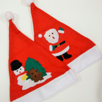 "15"" Mixed PrintSanta Hats  .54 ea"