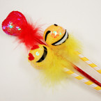 "9"" Fury Sequin Fun Pens Emoji's & Red Hearts .54 ea"