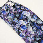 Palazzo Style Pants Blue Florals Print sold by pc $ 2.25 ea