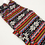Palazzo Style Pants Multi Color Aztec  Print sold by pc $ 2.25 ea