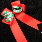 "6"" Ribbon Ribbon Christmas Theme Gator Clip Bows .54 ea"
