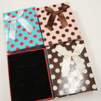 "3"" X 3.5"" Multi Purpose Gift Boxes w/ Ribbon 12 per pk .52 ea"