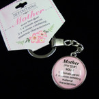 Mother Definitions High Quality Keychains 24 per pk .85 ea