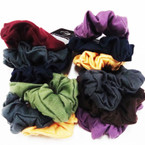 3 Pack Dark Color Cotton Hair Twisters .54 per set