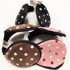 Ear Muffs w/ Poka Dots 3 Colors .54 ea
