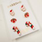 Bonus 3-Pack Christmas Earrings (65)  .54 per set