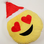 """SPECIAL EMOJI 12"""" Christmas Pillows 3 Styles per pk ONLY $ 3.00 ea"""
