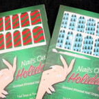 Instant Holiday Manicure 20 Pk Strips in Display bx 24 per bx @ .65 ea