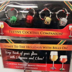 4 Pk Boxed Wine/Glass Chimes 24-4 pks @ .69 per set