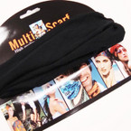Soft & Strengthy Multifunctional Headwraps All Black .54 ea