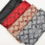 "3.5"" X 7"" 4 Color ""C"" Print Ladies Wallets .60 ea"