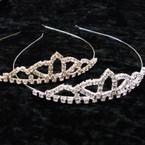 Gold & Silver Rhinestone Tiara Headbands ONLY .65 ea