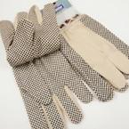 Hi Quality Heavy Duty Dot Grip Work Gloves 12 pr pack @ .60 ea pr