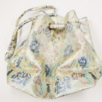 "Bargain 13""X18"" Jumbo FLower Print Bag w/ Shoulder Strap Silver $ 2.50 ea"