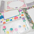 "8 Pk 5""X7"" Notecards & Envelopes 24 sets per bag .45 ea set"