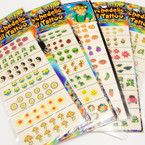 CLOSEOUT Nail Tattoo Cards 24 cards per pk @ .20 ea card