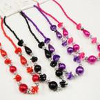 """18"""" Colored Pearl Fashion Necklace .54 ea"""