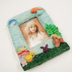 "3"" X 4"" Tropical Theme Poly Resin Picture Frames sold by 12 @ .50 ea"