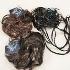 Clearance 18 pk Mixed Imitation Hair Twisters  .25 ea
