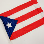 "Best Quality 12""X18"" Puerto Rico Car Flags 10 per pk @ .75 ea"
