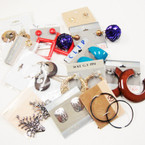 CLOSEOUT Pack 21 Pairs Earrings @ .12 ea