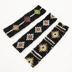 Hand Made Seed Beaded Stretch Bracelets 3 styles .50 ea