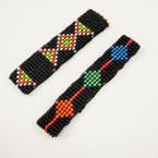 Hand Made Seed Beaded Stretch Bracelets 2 styles per pk  .50 ea