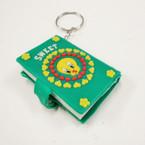 Sweet Bird Notebook Keychains .25 ea