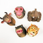 CLOSEOUT Mixed Poly Resin Wild Animal Magnets 14 pk @ .25 ea