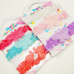3 Pack Butterfly Theme Baby Stretch Headbands .54 per set