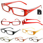 Ladies Side Cry. Stone Fashion Reading Glasses  12 per bx  .83 ea