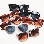 SPECIAL Ladies Plastic Fashion Sunglasses Mix Styles .79 ea