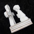 """3"""" Ceramic Communion Cross  2 per bx .50 ea"""